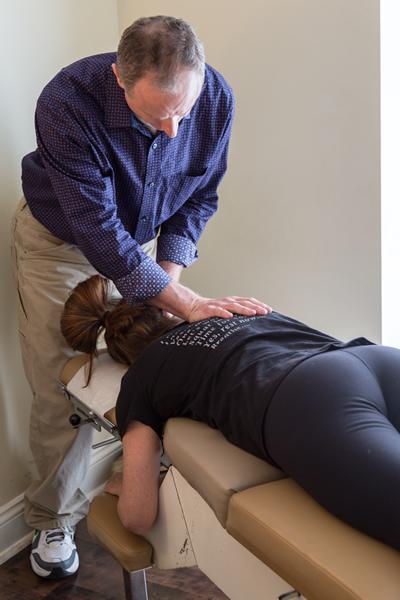 PGA Chiropractor In Action